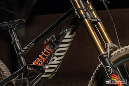 Darren Berrecloth's Canyon Torque - Red Bull Rampage 2015