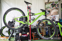 Henrique Avancini's New Cannondale - Cairns XC World Cup 2016