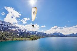 Sam Pilgrim Takes off in Switzerland - Video