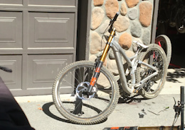 Trek's Prototype DH Bike - Crankworx Whistler 2016