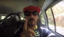 Cedric Gracia at Megavalanche, Reunion Island - Track Preview