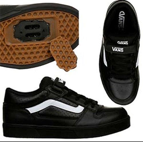 Vans Warner Spd Bmx Clipless Shoes Black