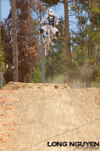 Aaron Gwin styling it out haha.