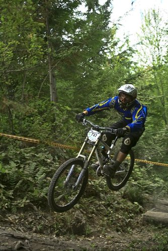 Whitefish Montana's Willie Hobbs drove the distance and is poised to race the distance for a Fluidride podium.