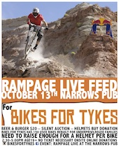 Rampage LIVE at The Narrows Pub OCT 13 (Vancouver) @ 12pm