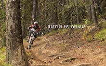 Video: Justin Feldhaus DH on Moto Trails