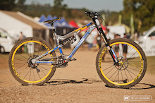 Sam Hill's Nukeproof Race Bike - Pietermaritzburg World Cup