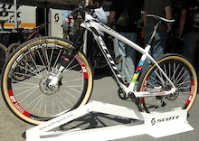 Nino Schurter's World Championship Winning, 17.8-Pound Scott Scale - Sea Otter 2014