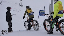 Video: DH Winter Bike Race At Alyeska Resort