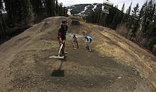 2014 Sun Peaks Bike Park Update #1: Tailgating the Snowline
