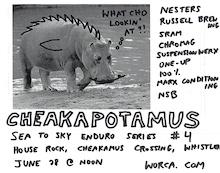 Sign up Now for Sea to Sky Enduro Round 4: Cheakapotamus