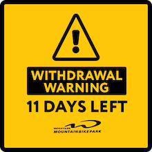 Withdrawal Warning! 11 Days Left for Whistler Mountain Bike Park