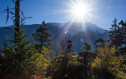 Fall Riding in Pemberton with Polygon