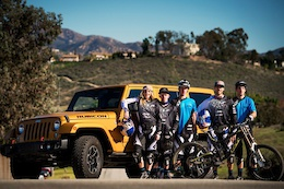 GT Factory Racing Add Bell, iXS and Jeep as Sponsors