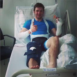 Breaking News: Greg Callaghan Injured