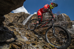 Round Two of the Crankworx World Tour Launches in Les 2 Alpes