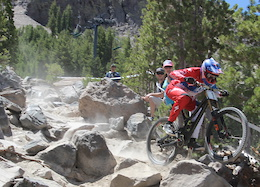 Video: Downhill National Finals at Mammoth
