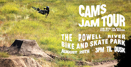 Cam's Jam - Powell River Bike and Skate Park