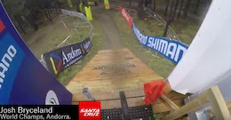 Video: Ratboy's Helmet Cam - DH World Championships Vallnord 2015