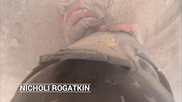 Video: This Crash Couldn't Stop Nicholi Rogatkin - Red Bull Rampage 2015