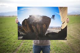 Photographer Justin Olsen Auctions Photo Print for Paul Basagoitia