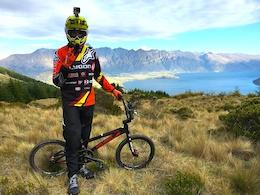 Fab Goes Mass Start Downhill Racing on a BMX - Video