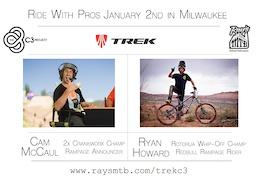 Cam McCaul and Ryan Howard at Ray's Milwaukee
