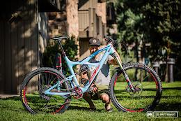 Robin Wallner's Ibis Mojo HD3 Bike Check - EWS Round 5, Aspen-Snowmass