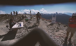 Racing the Whistler EWS from a Rider's Perspective - Video