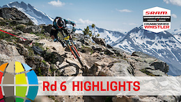 Adversity and Calamity: EWS Rd 6 Highlights Whistler, Canada - Video