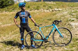 Yoann Barelli's A-Line Cyclocross Bike - Crankworx Whistler 2016