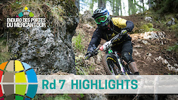 A French Classic. EWS Rd 7 Highlights, Valberg-Guillaumes