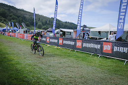 Ride North Wales at the British Downhill Series, Llangollen