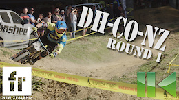 New Zealand Downhill National Cup, Round 1 - Video