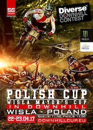 Diverse Downhill Contest: Polish Cup 2017 Starts in Wisla
