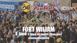 4X Pro Tour Round 3, Fort William – Livestream