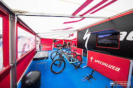 The Pits: Team Setups at the Vallnord XC World Cup