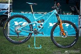 Bike Check: Richie Rude's Yeti SB5.5 - EWS Aspen 2017