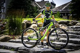 Erin Huck's Cannondale Scalpel Si - Mont-Sainte-Anne XC World Cup 2017