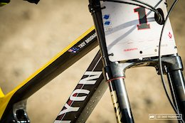 Troy Brosnan's Crankworx Crushing Canyon Sender - Bike Check