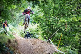 British Downhill Series, Round 4 at Llangollen: Team Aston Hill