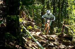 Rachel Atherton Injured - Cairns DH World Champs 2017