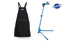 Win a Park Tool Home Mechanic Repair Stand and Apron - Pinkbike's Advent Calendar Giveaway