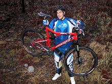 Matti Lehikoinen back on his bike