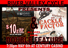 RVC To Host Double Feature - Seasons and Cackle Factor