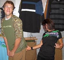 Interbike 2008 - Dakine's new Clothing line