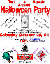 7th Annual Hootie Halloween Party and Some Dirty News