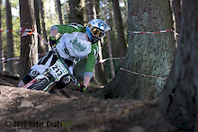 Northern Downhill Round 2 Hamsterley Forest - England
