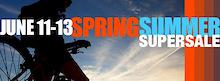 Calgary Cycle's SpringSummerSuperSale is on!