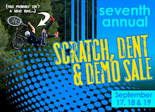 7th Annual Scratch, Dent & Demo Sale